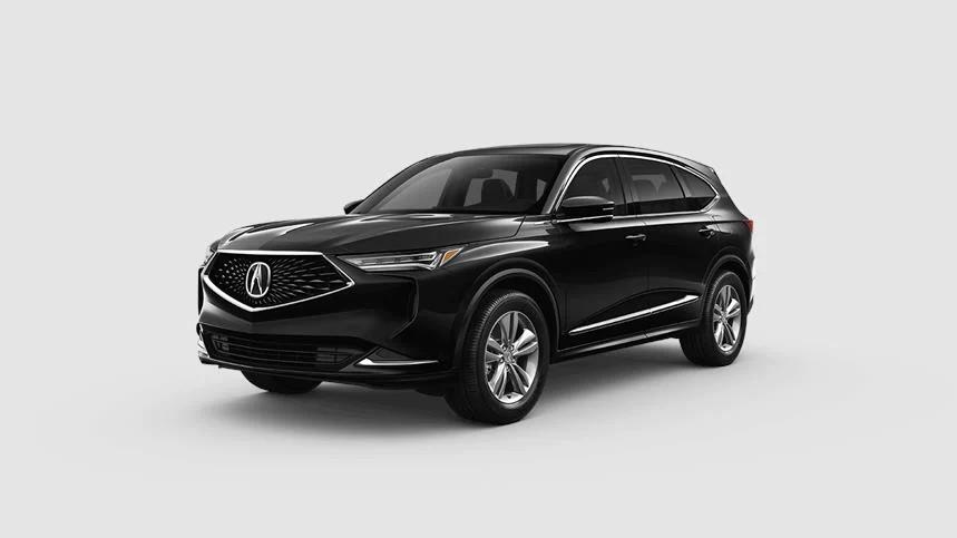2022 Acura MDX Majestic Black Pearl