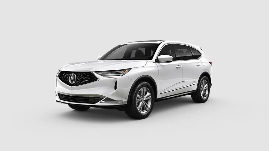 2022 Acura MDX Platinum White Pearl