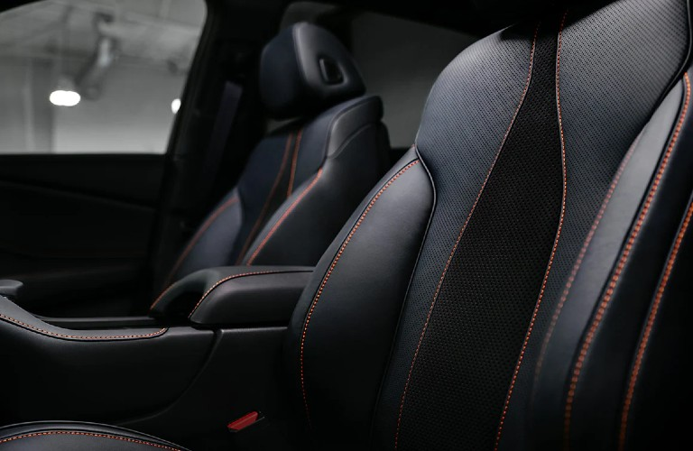 Seats inside the 2021 Acura RDX PMC Edition