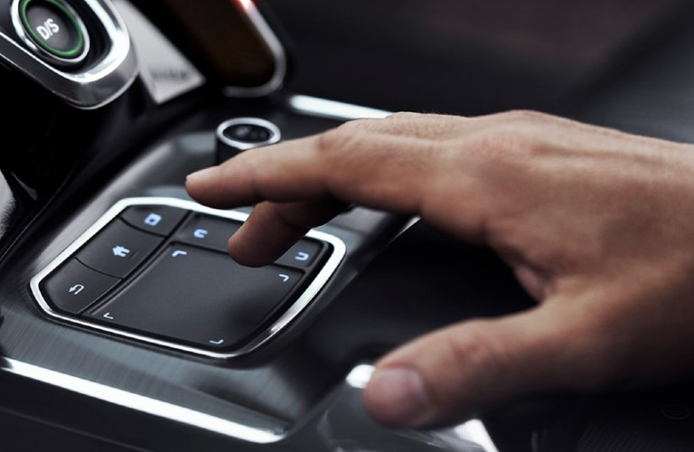 True Touchpad Interface inside the 2021 Acura TLX