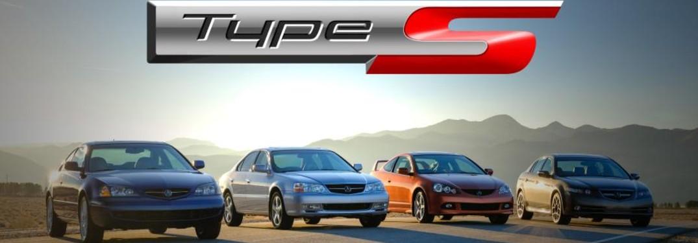 2001 - 2008 Acura Type S models
