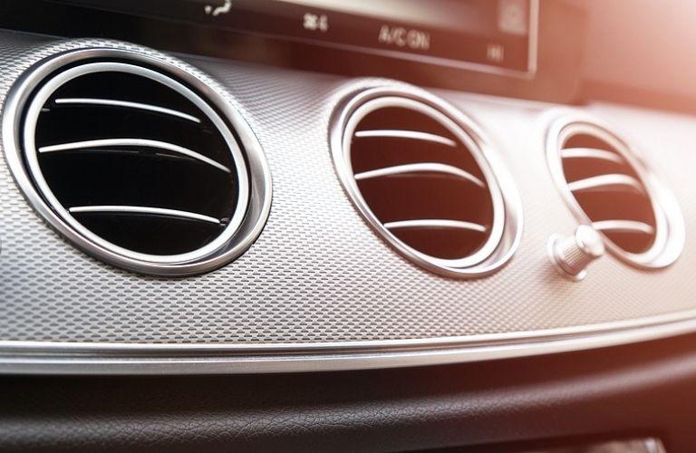 AC ventilation deck in a car.