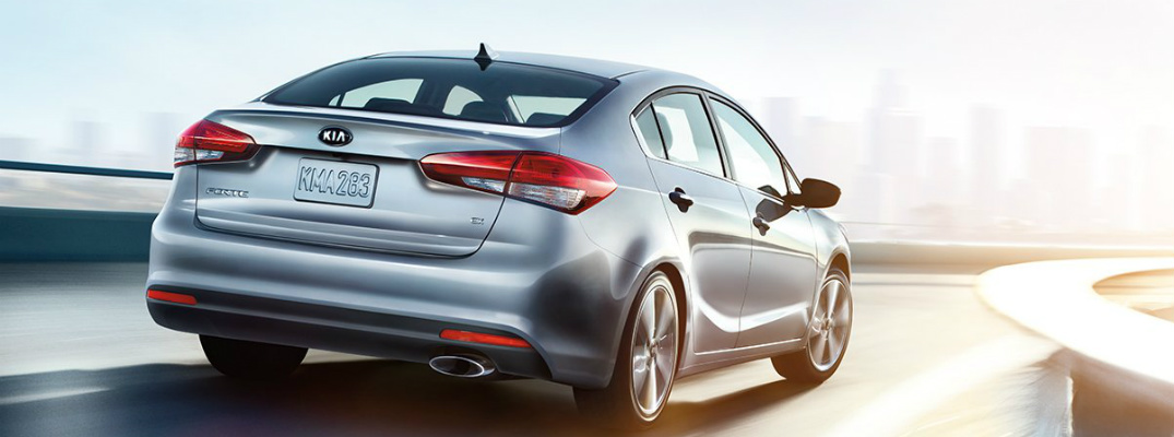 What trims are available for the 2017 Kia Forte?