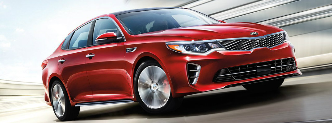 What tech features can you get in the 2018 Kia Optima?