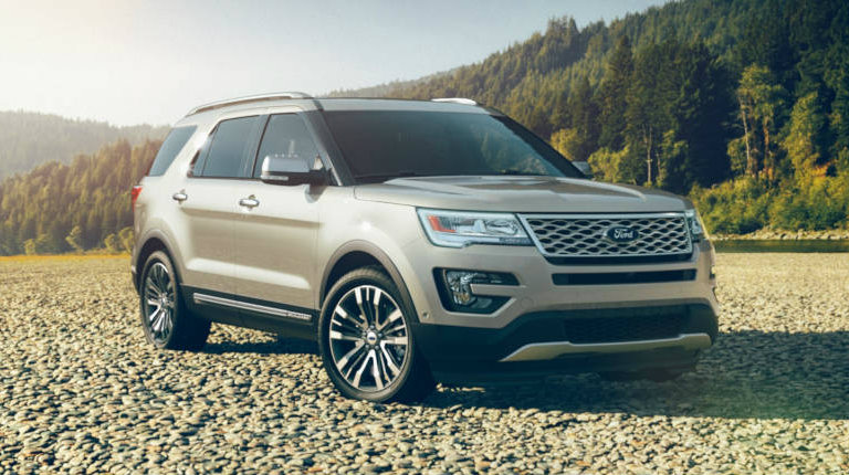 2017 Ford Explorer In White Platinum O Kovatch Ford