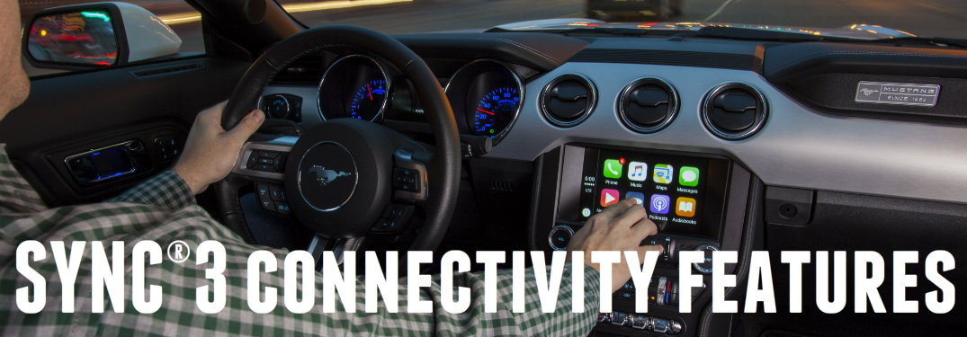 SYNC 3 Apple CarPlay and Android Auto
