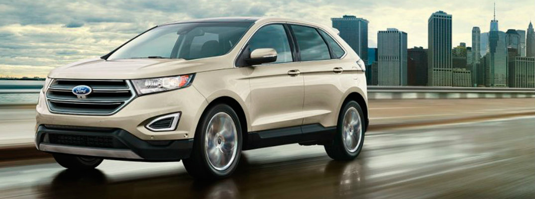 2017 Ford Edge cargo volume and specifications