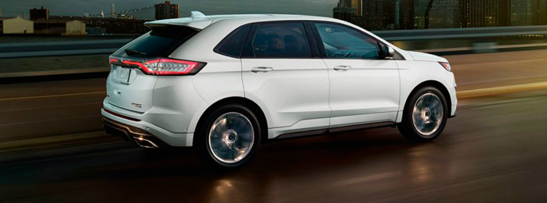 2017 Ford Edge available engine options