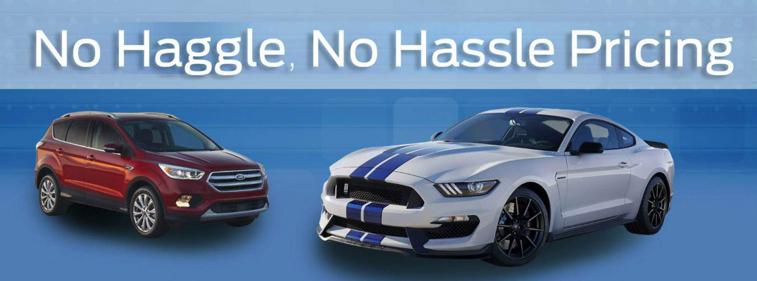 No Hassle Pricing on Ford vehicles in Carbon County PA