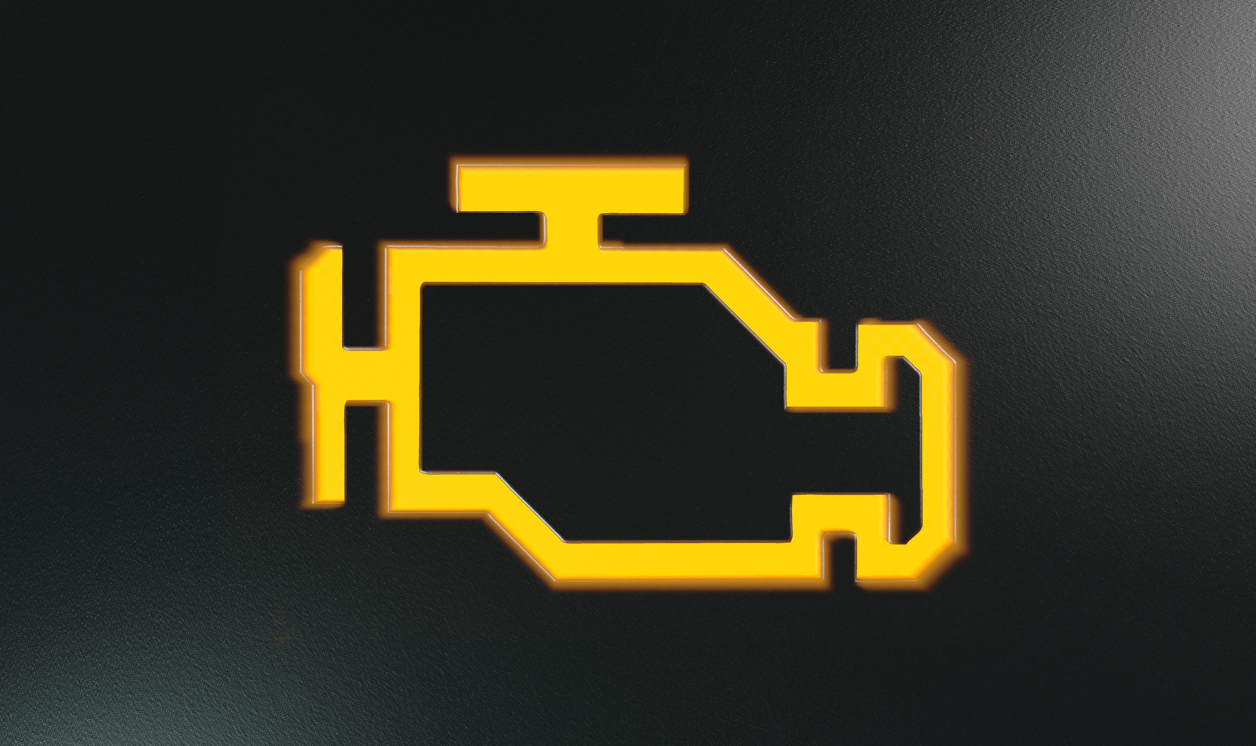 Orange Check Engine Indicator Dash Light Kovatch Ford