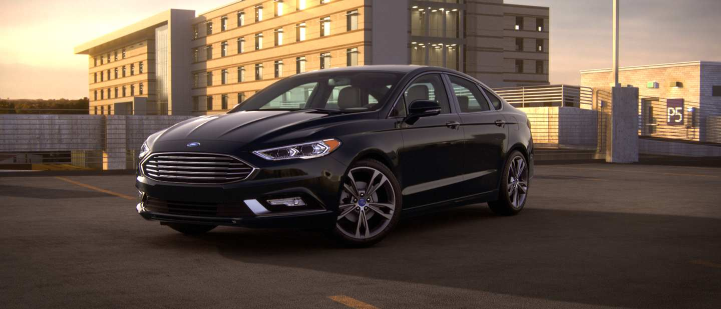 2018 ford fusion shown in shadow black