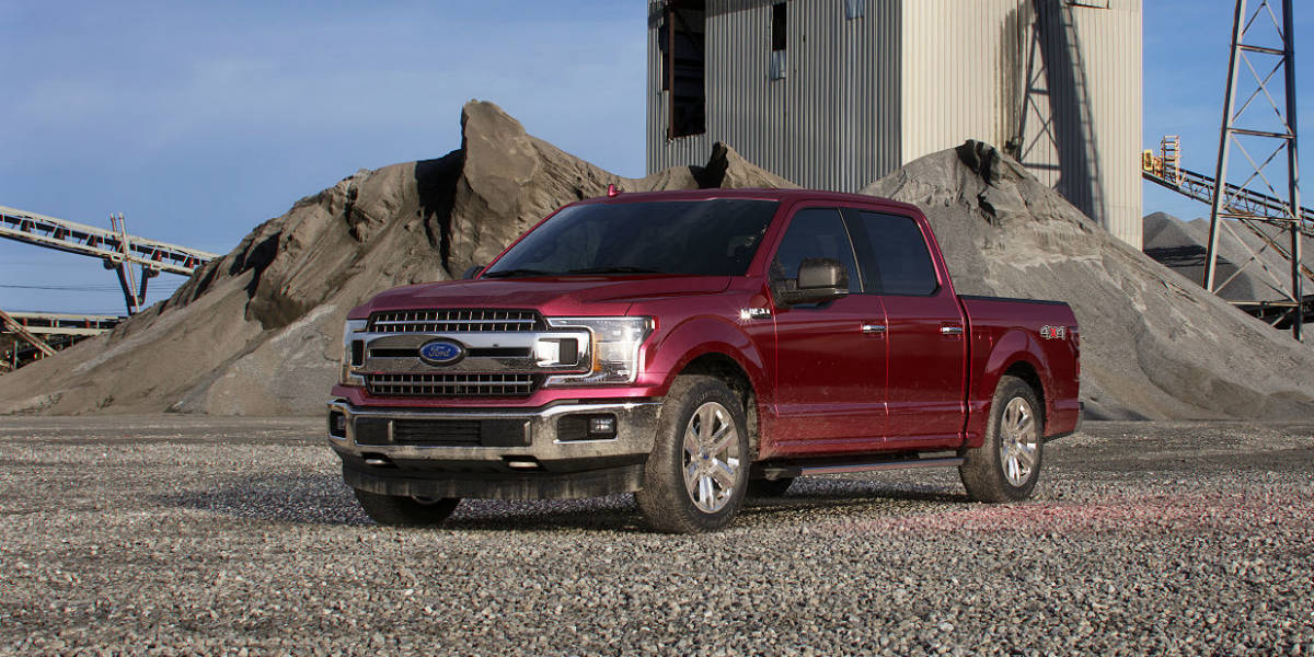 2018 Ford F 150 In Ruby Red Side View O Kovatch Ford