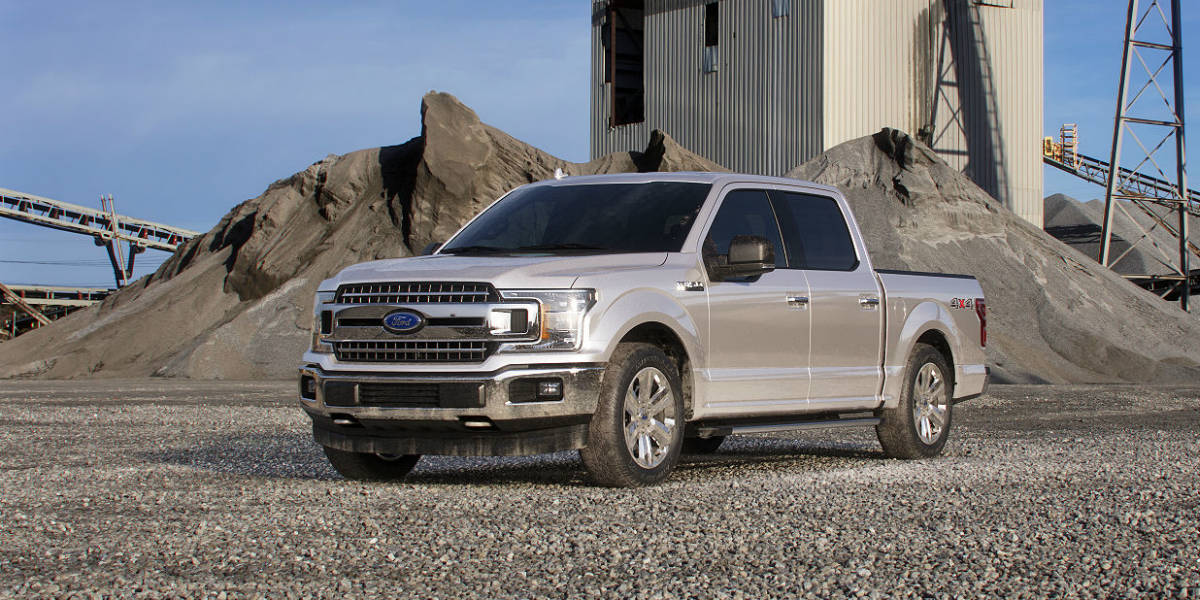 Ford F  In White Gold