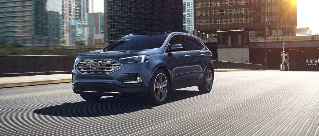 2019 Ford Edge in Blue Metallic