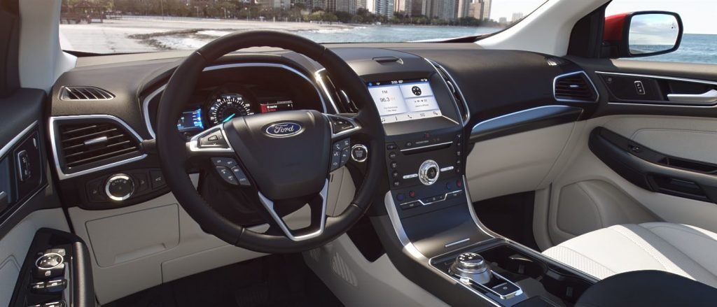 2019 Ford Edge Exterior And Interior Color Options By Trim