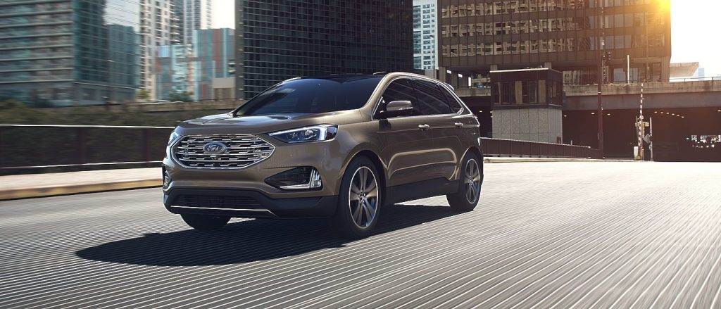 2019 Ford Edge in Stone Gray