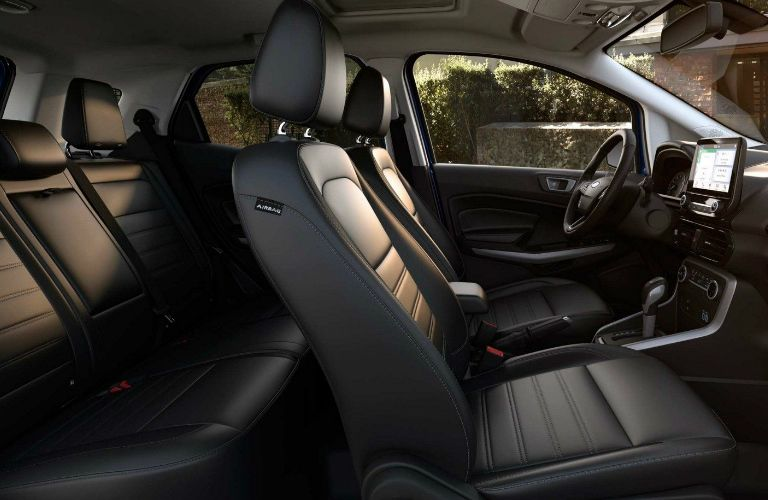 Two rows of seating inside 2019 Ford EcoSport
