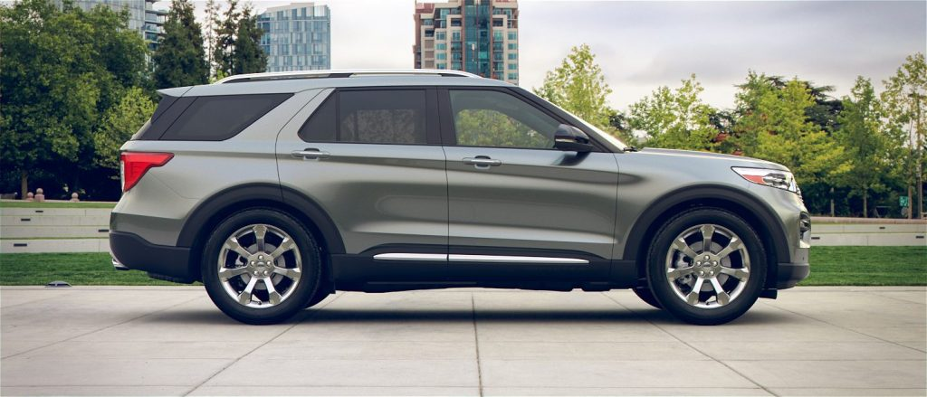 Projected exterior paint color options on the 2020 Ford Explorer - Kovatch Ford