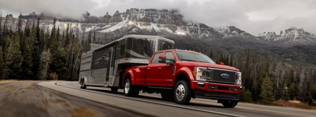 What engines will be available on the new 2020 Ford Super Duty?