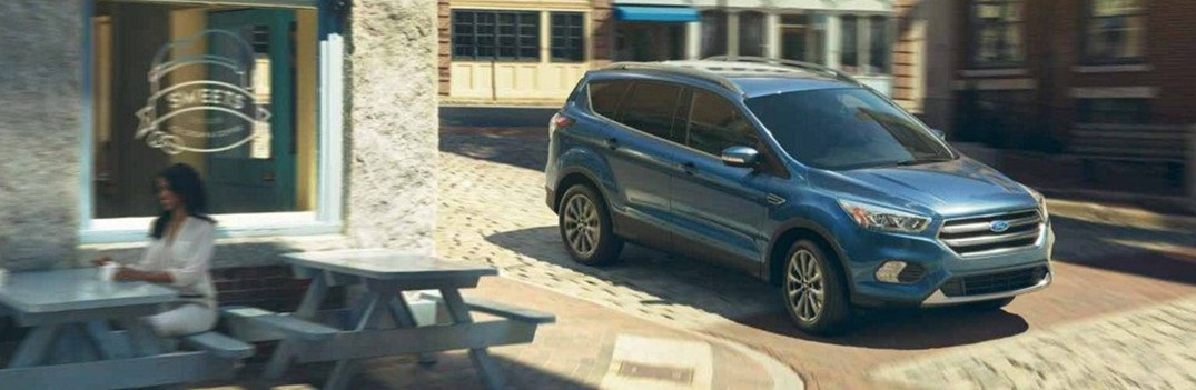 2019 ford escape driving through city