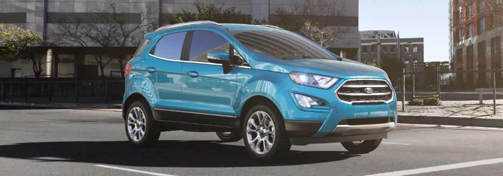 candy blue  2019 ford ecosport