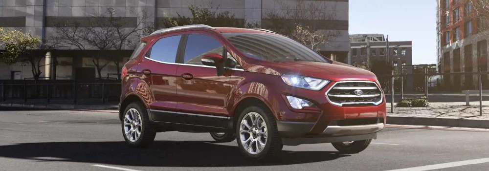 ruby red  2019 ford ecosport