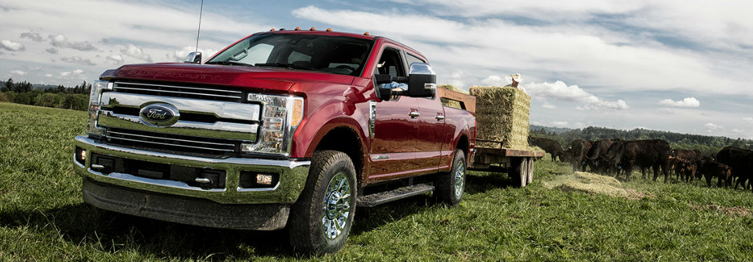 What colors does the Ford Super Duty have?