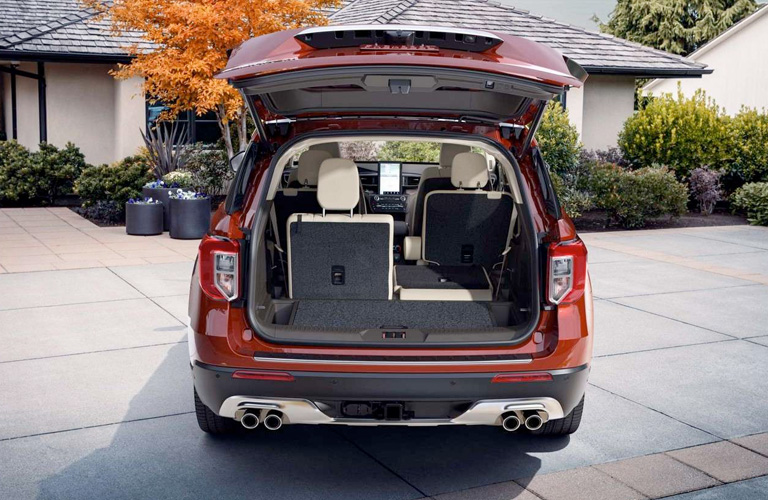2020 Ford Explorer Legroom and Cargo Space