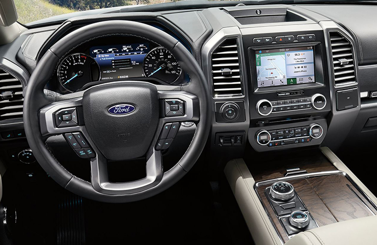 2019 Ford Expedition dashboard