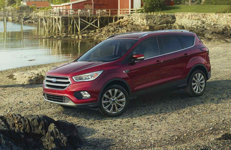 2019 Ford Escape in red