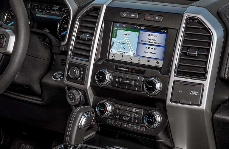 2019 Ford F-150 touch screen display