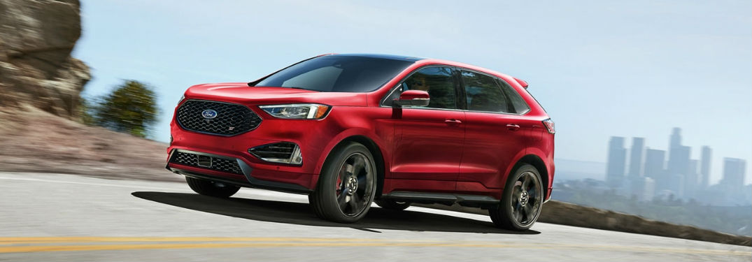 What colors are available on the 2020 Ford Edge?