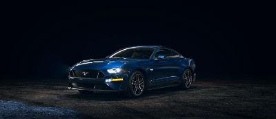 2020 Ford Mustang Kona Blue