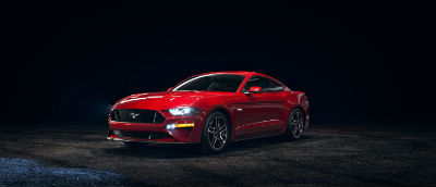 2020 Ford Mustang Race Red