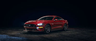 2020 Ford Mustang Rapid Red