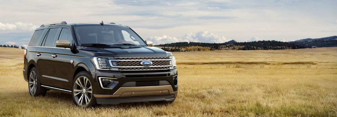 2020 Ford Expedition front fascia passenger side in field