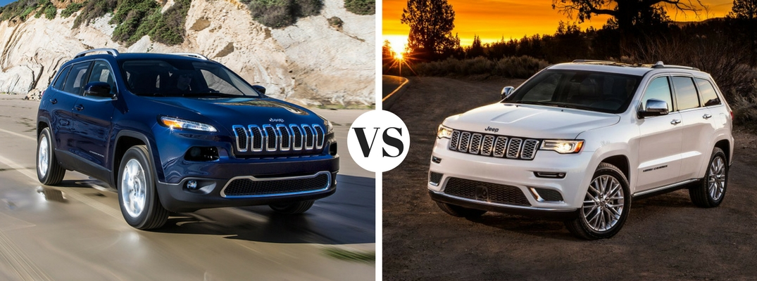 how are the Jeep Cherokee and Grand Cherokee different