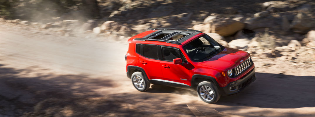 What's new for the 2018 Jeep Renegade