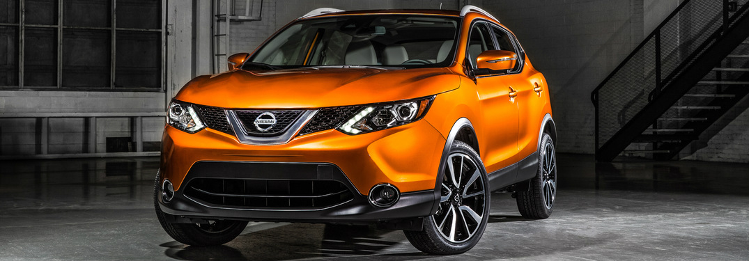 What colors are available for the 2017 Nissan Rogue Sport?