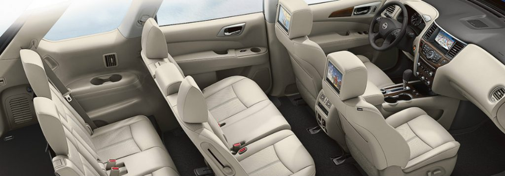 what is the seating capacity of the 2018 nissan pathfinder. Black Bedroom Furniture Sets. Home Design Ideas