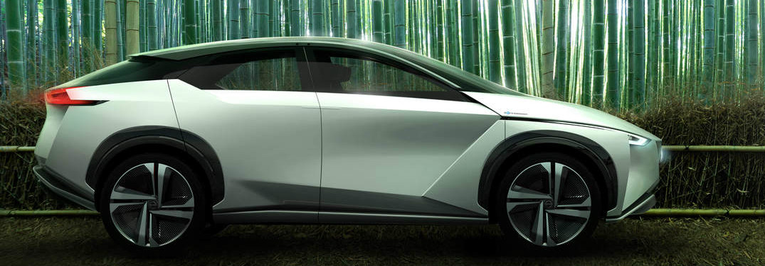 Nissan IMx concept vehicle exterior side view