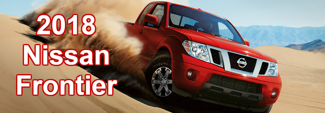 red 2018 Nissan Frontier driving off road