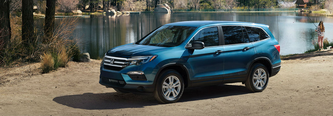 How much room is in the 2017 Honda Pilot?