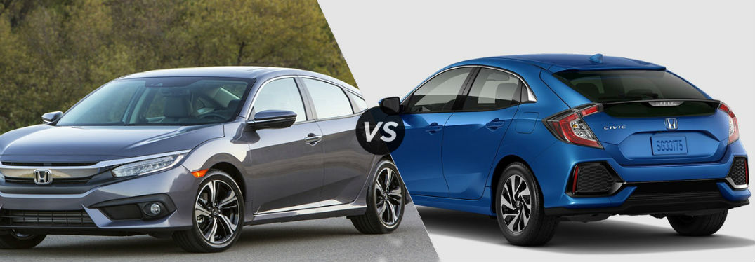 Honda Civic Sedan vs Honda Civic Hatchback