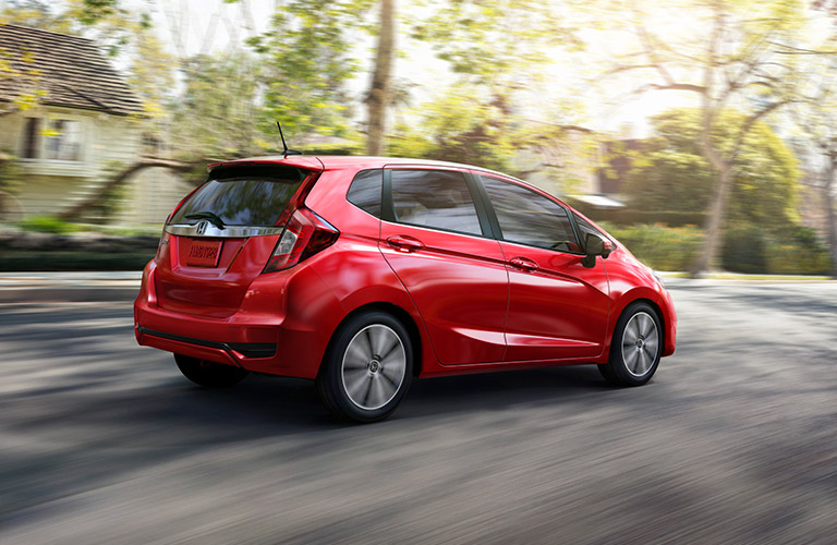 2018 Honda Fit athletic stance