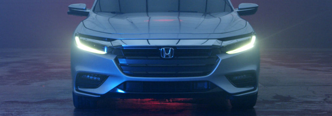 front grille and fascia of 2019 honda insight prototype
