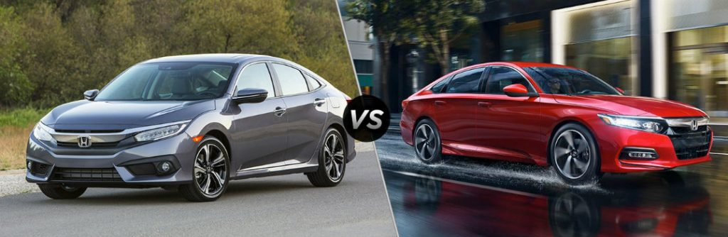 2018 honda civic vs 2018 honda accord for Honda accord vs honda civic
