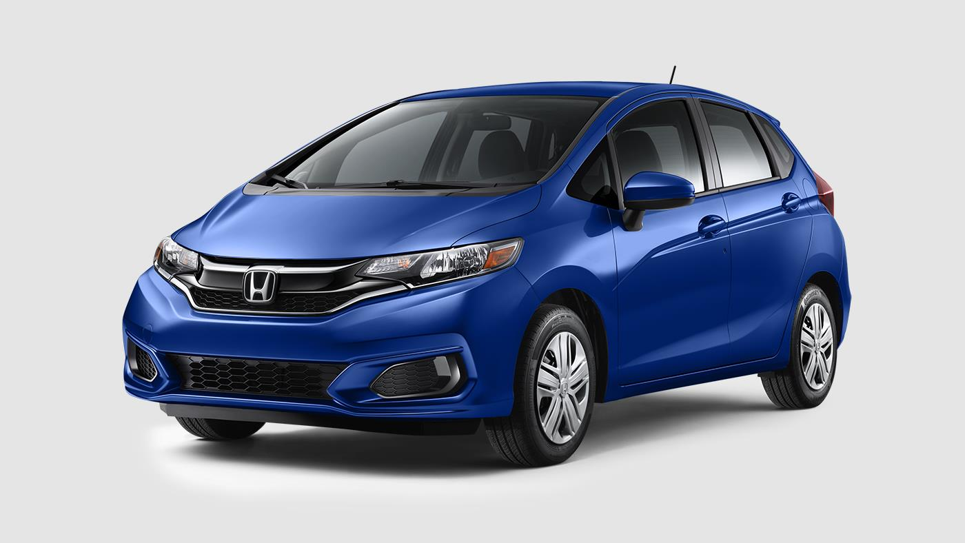 2018 Honda Fit Aegean Blue Metallic
