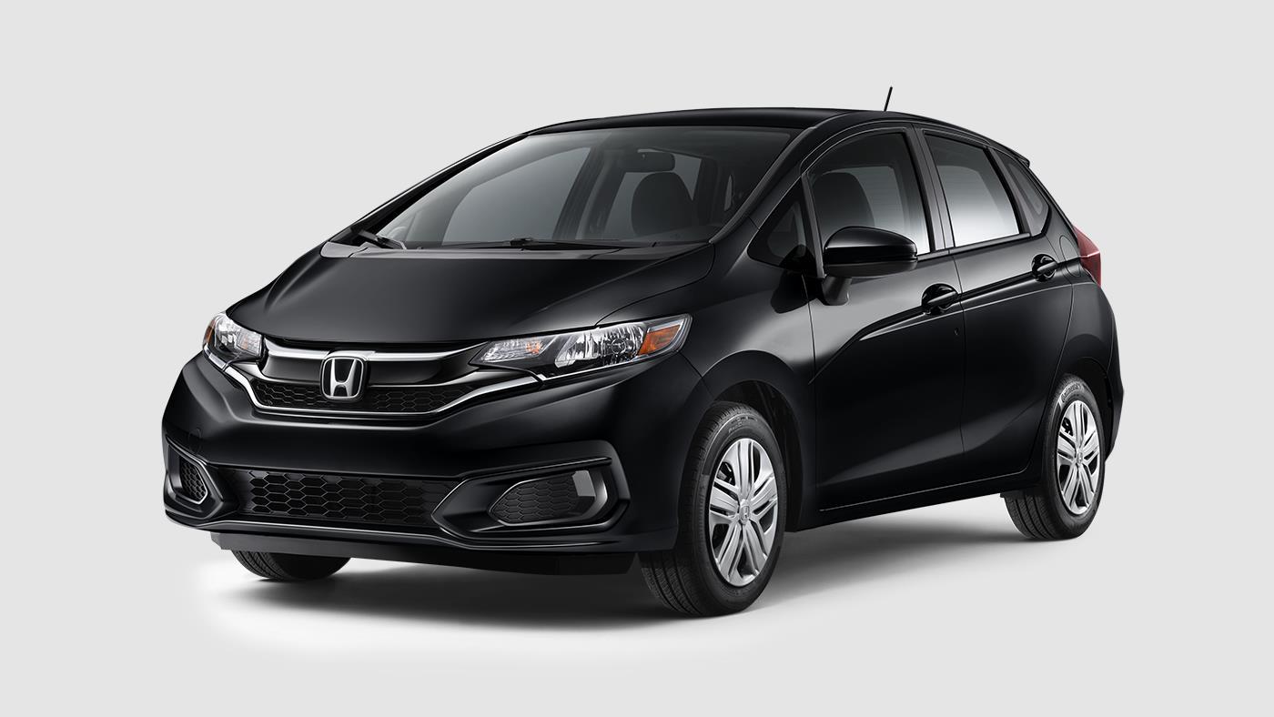 2018 Honda Fit Crystal Black Pearl