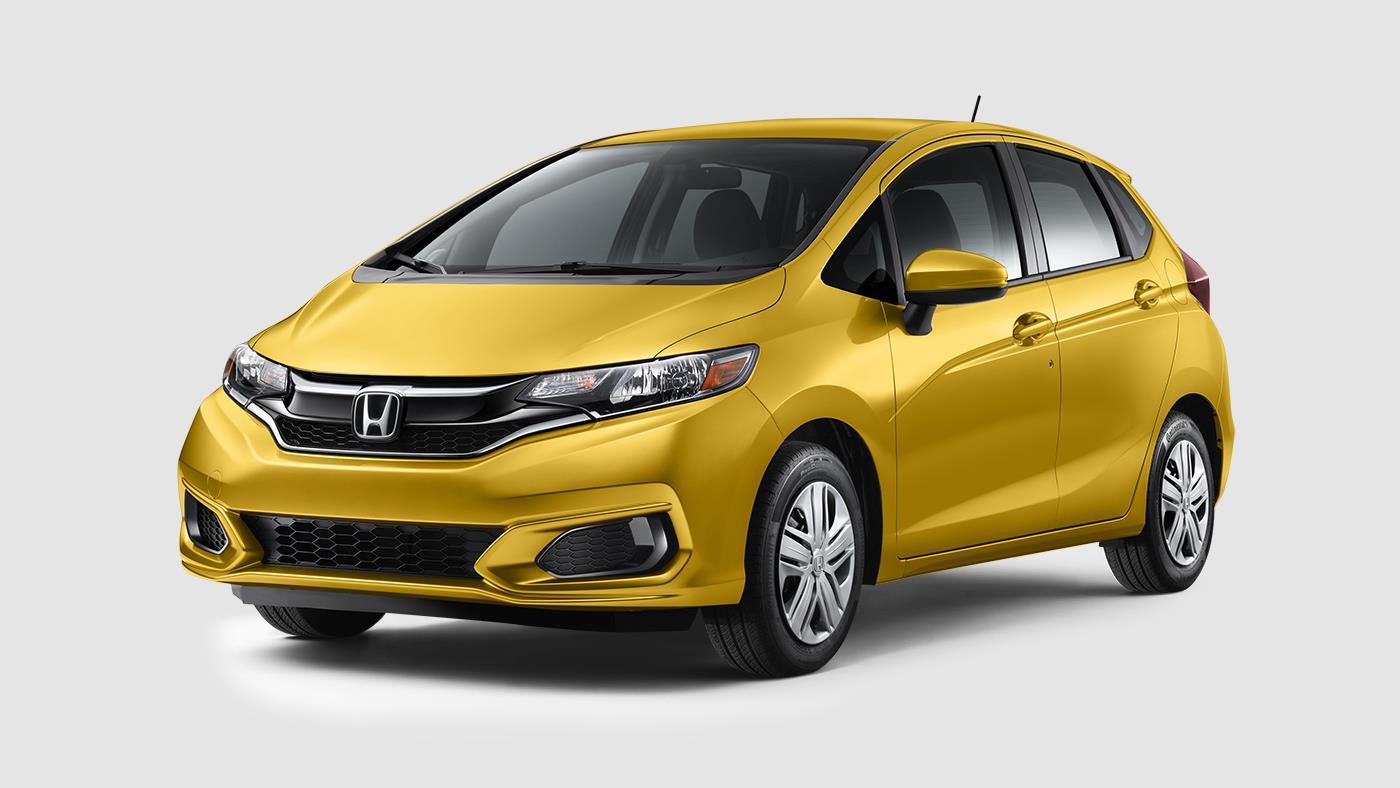 2018 Honda Fit Helios Yellow Pearl